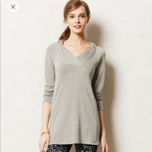 Anthropologie Braided Brynn Tunic